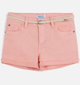 Mayoral Basic Twill Shorts Nude