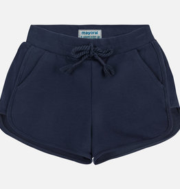 Mayoral Chenille Shorts Navy