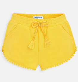 Mayoral Chenille Shorts Yellow