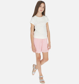 Mayoral Pleaded Skort Pink