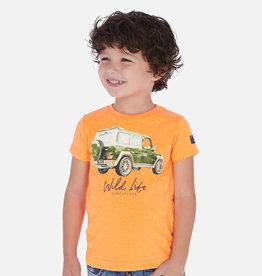 Mayoral Vehicle T-Shirt SS Orange