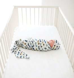 Posh Peanut Enzo infant Swaddle & Beanie Set