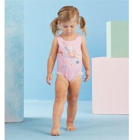 Mud Pie Pink Unicorn Swimsuit