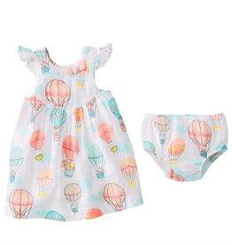Mud Pie Balloon Muslin Dress