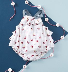 Mud Pie Crab Muslin Bubble
