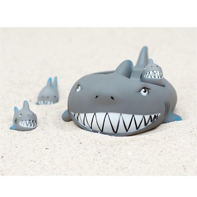 Mud Pie Shark Bath Toy Set