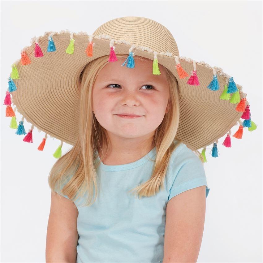 Mud Pie Tassel Sun Hat