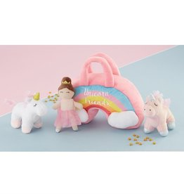 Mud Pie Unicorn Friends Plush Set