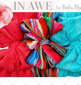 In Awe Couture Serape Ruffle Headband Box Set