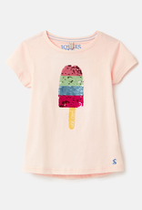 Joules Astra Tee Jasmine Lolly