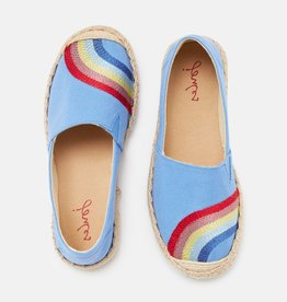 Joules Junior Shelbury Shoe Blue