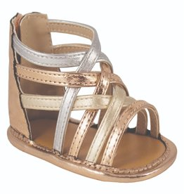 Trimfoot Co. Mixed Metallic Strappy Infant Sandal