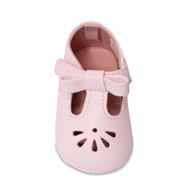 Trimfoot Co. Pink Soft Sole T-Strap Baby Shoe