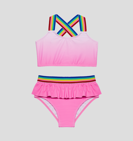 Andy & Evan Pink Ombre Tankini