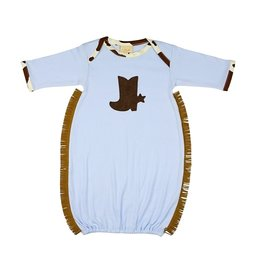 Haute Baby Chuckwagon Gown, 0/3M