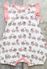 Bestaroo Bicycle Romper Pink