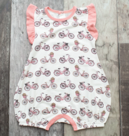 Bestaroo Bicycle Romper Pink