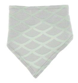 Kickee Pants Bandana Bib Iridescent Mermaid Scales