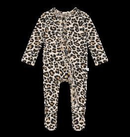 Posh Peanut Lana Leopard Footie