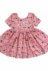 Mila & Rose Pink Fairytale SS Twirl Dress