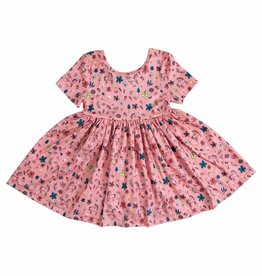 Mila & Rose Pink Fairytale SS Twirl Dress