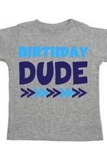Sweet Wink Birthday Dude SS Shirt Gray
