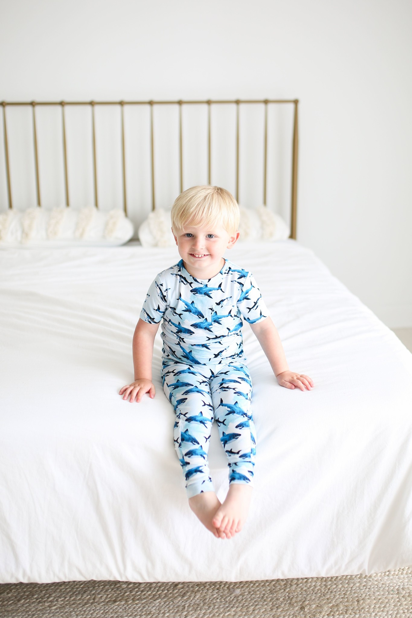 Posh Peanut Colton SS Basic Loungewear