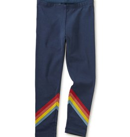 Tea Collection Rainbow Leggings Whale Blue