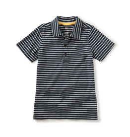 Tea Collection Striped Polo Heritage Blue