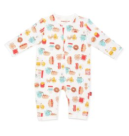 Magnificent Baby Better Together Organic Cotton Magnetic Coverall