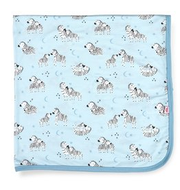 Magnificent Baby Blue Little One Modal Swaddle Blanket