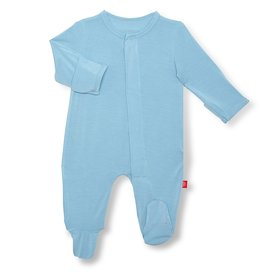 Magnificent Baby Glacier Solid Modal Magnetic Footie
