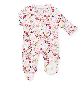 Magnificent Baby Pom Pom Organic Cotton Magnetic Footie