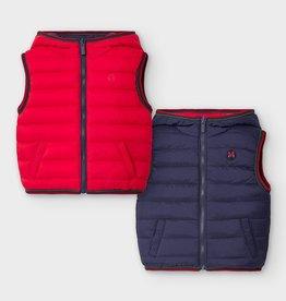 Mayoral Reversible Vest Red