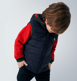 Mayoral Padded Reversible Vest Navy