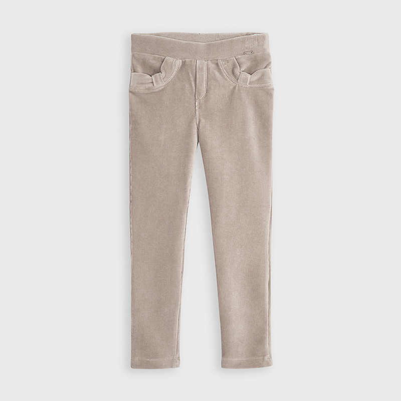 Mayoral Basic Cord Knit Trousers Mole