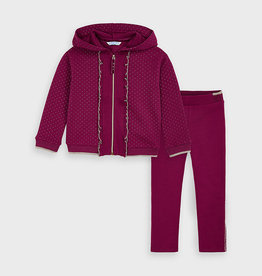 Mayoral Tracksuit Cherry