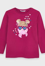 Mayoral LS T-Shirt Cherry