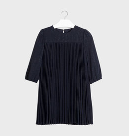 Mayoral Pleated Dress Navy