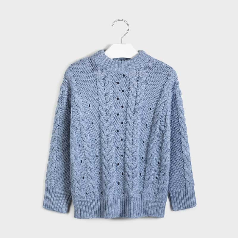 Mayoral Knit Sweater Lavender