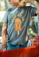 Feather 4 Arrow Heather Gray Stay Chill Vintage Tee