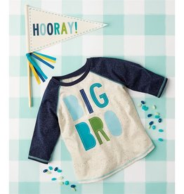 Mud Pie Big Bro Shirt & Pennant Set
