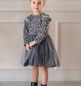 Mabel & Honey Wild Love Dress Grey