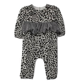 Mabel & Honey Wild Love Romper Grey