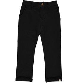 Me & Henry Black Jersey Pants (Baby)