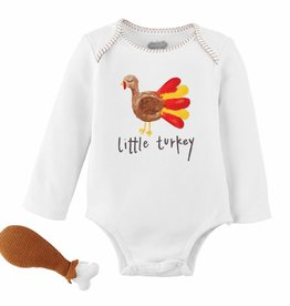 Mud Pie Turkey Knit Rattle Gift Set