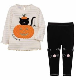 Mud Pie Mud Pie Cat Tunic & Legging Set