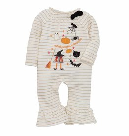 Mud Pie Halloween Icon Romper