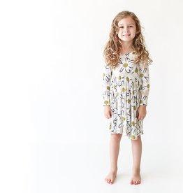 Posh Peanut Maxine LS Twirl Dress