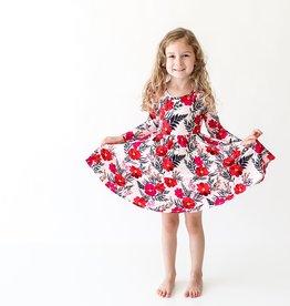 Posh Peanut Chloe LS Twirl Dress